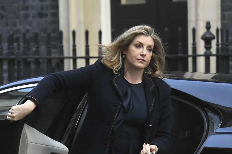 英國新任國防大臣莫登特(Penny Mordaunt)(AP)