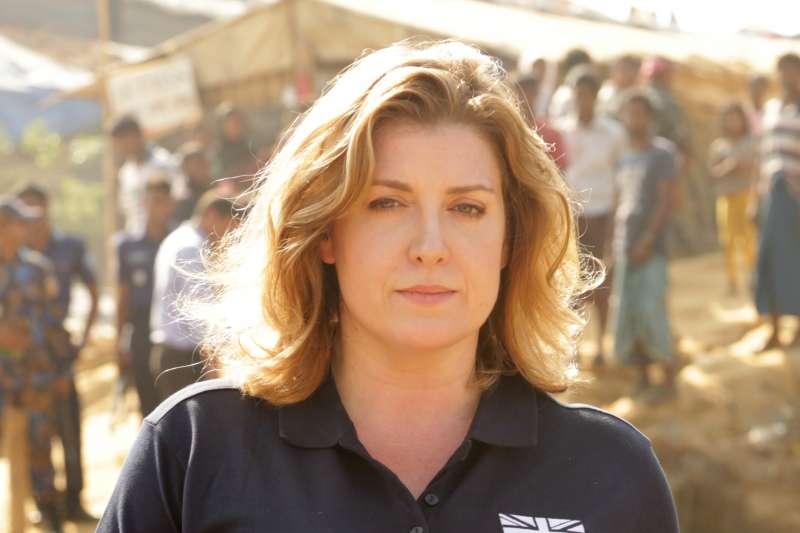 英國新任國防大臣莫登特(Penny Mordaunt)(Russell Watkins Department for International Development@Wikipedia / CC BY 2.0)