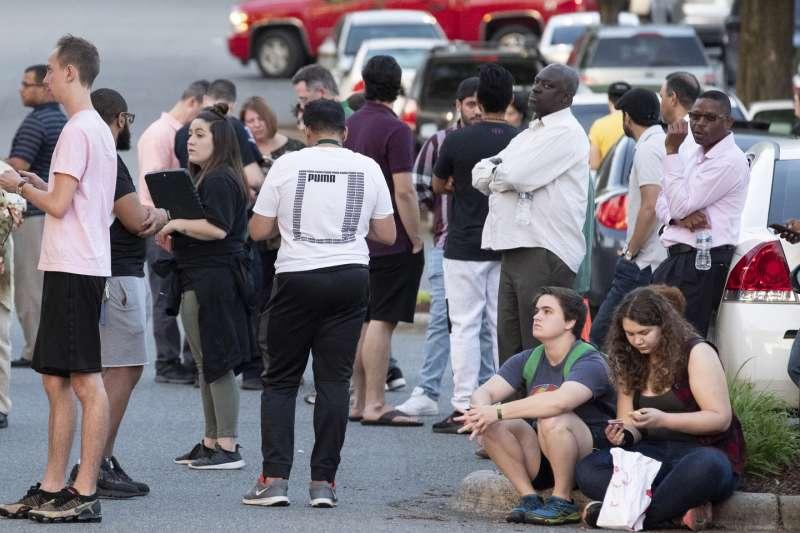 北卡羅萊納大學槍擊案掀起一陣恐慌。(AP)