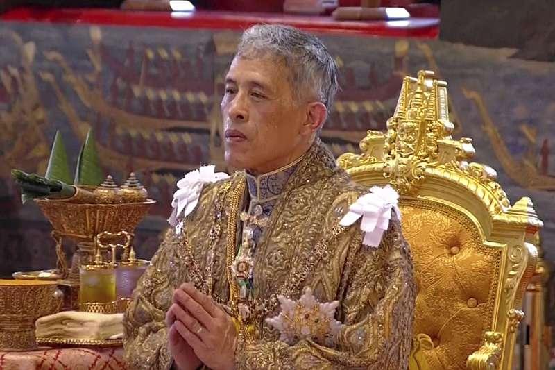 泰國國王「拉瑪十世」瓦吉拉隆功。(美聯社)