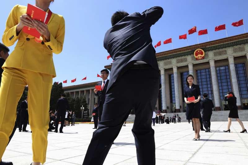 2019年,中國共產黨慶祝五四運動100周年(AP)