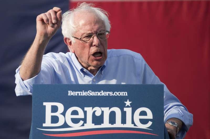 佛蒙特州聯邦參議員桑德斯投入2020年總統選戰(美聯社)