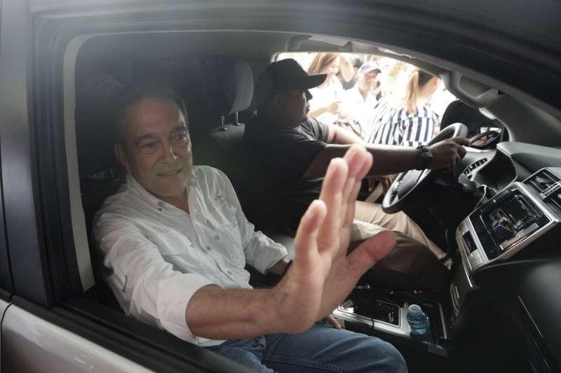 2019巴拿馬大選,主打反貪污的民主革命黨候選人柯狄索。(AP)