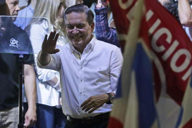 2019年5月5日,柯狄索當選巴拿馬新任總統。(AP)