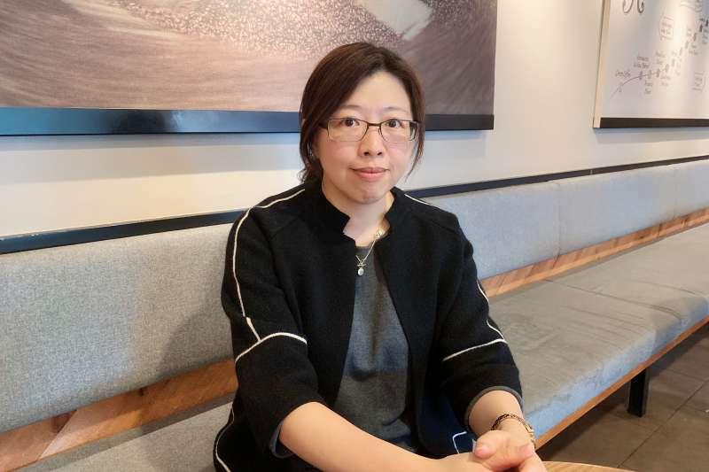 司法人權進步協會秘書長柯怡如。(圖/葉滕騏攝).jpg