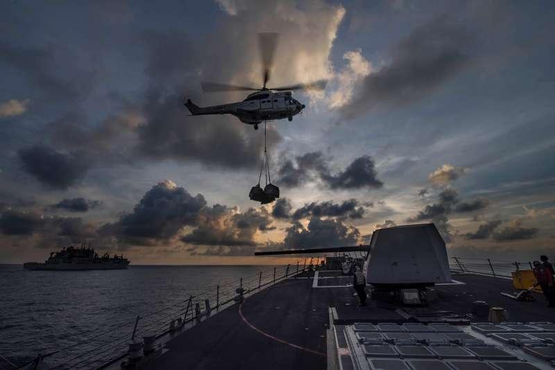 美國海軍阿利伯克級驅逐艦普瑞布爾號(Preble, DDG-88)。(翻攝官方臉書)