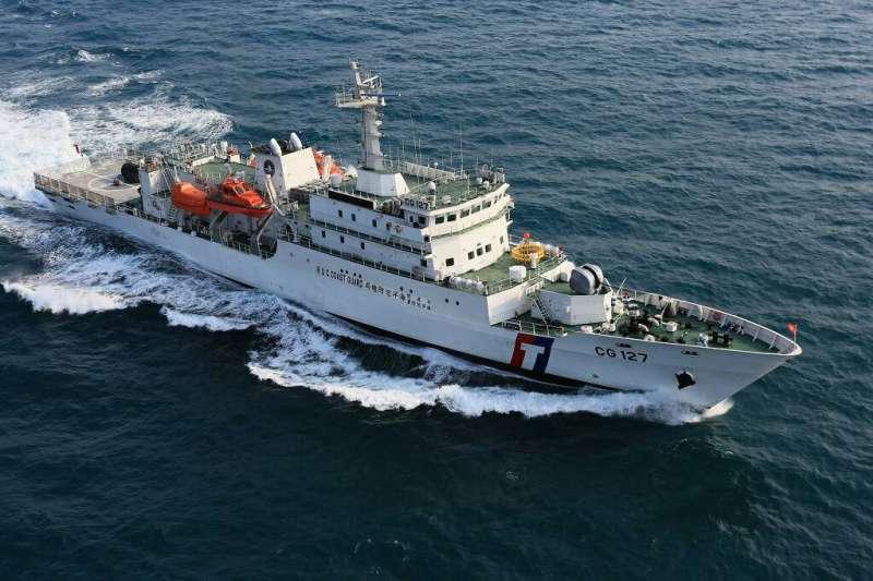 新北艦(海巡署2000噸級巡防救難艦),由台灣國際造船公司基隆廠101年製造。(圖/台船公司提供)