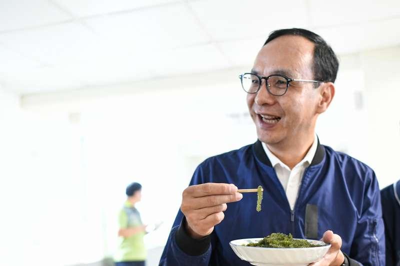 20190506-前新北市長朱立倫的「台灣更好,立倫行腳」行動6日前往澎湖。對於外界關心的自經區議題,朱立倫表示,自經區是國民黨的共同政見,不只要先有一個自由經濟示範區,將來更要推動到全台灣。(朱立倫辦公室提供)