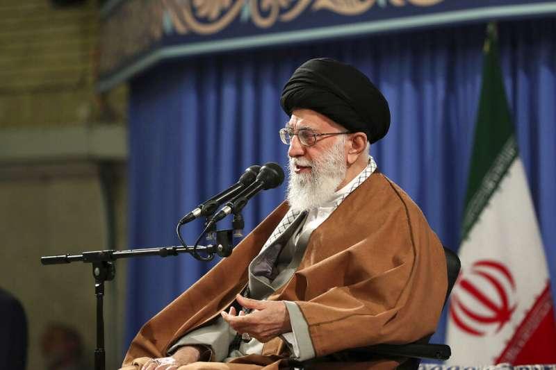 伊朗最高領袖哈米尼(Ali Khamenei)。(AP)