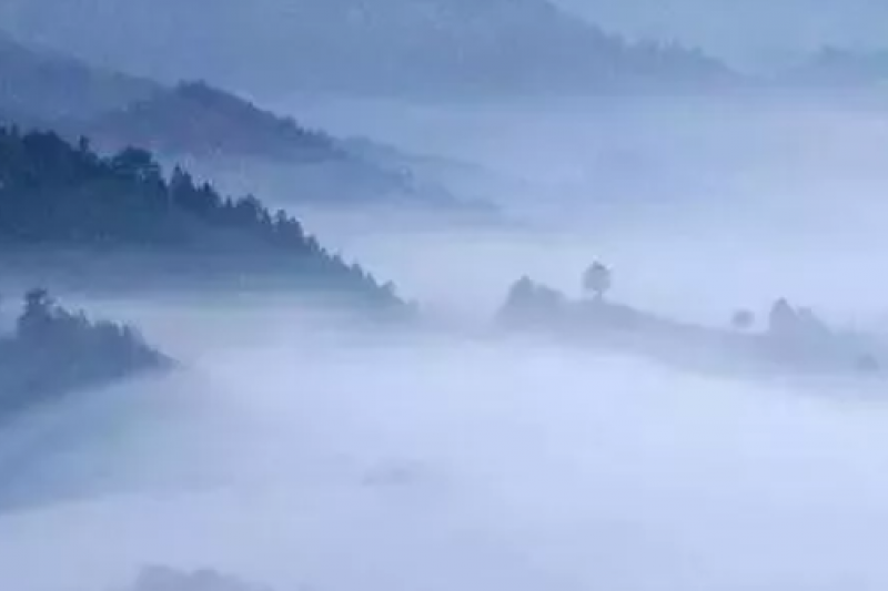 山景(取自公眾號@劉君祖經典講堂)