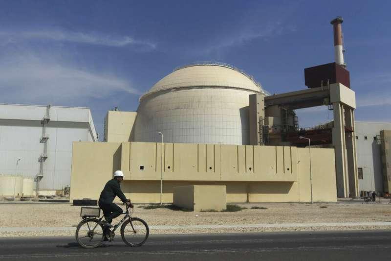 伊朗布什爾核電廠。(美聯社)