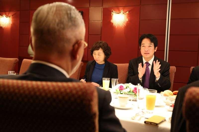 2019年5月9日,前行政院長賴清德訪問日本首都東京(賴清德臉書)