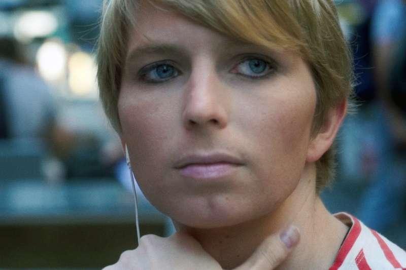 維基解密網站洩密案的關鍵人物,美國退役兵曼寧(Chelsea Manning)(AP)