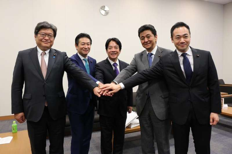 前行政院長賴清德訪日,並拜訪國會議員。(賴清德臉書)