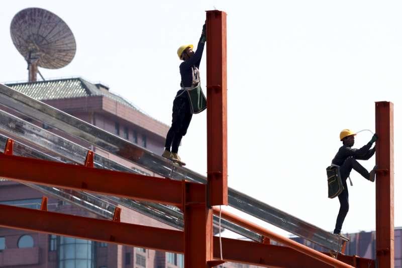 中國經濟。(美聯社)