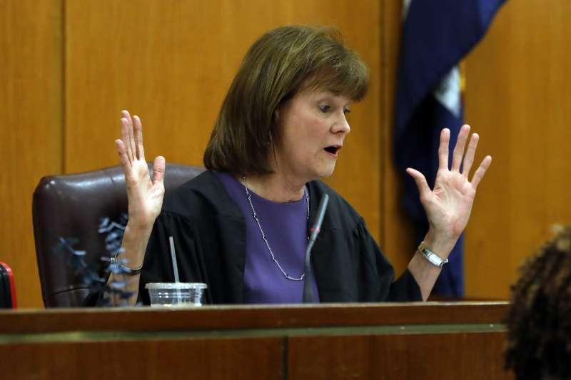 索羅金案的承審法官奇索。(AP)