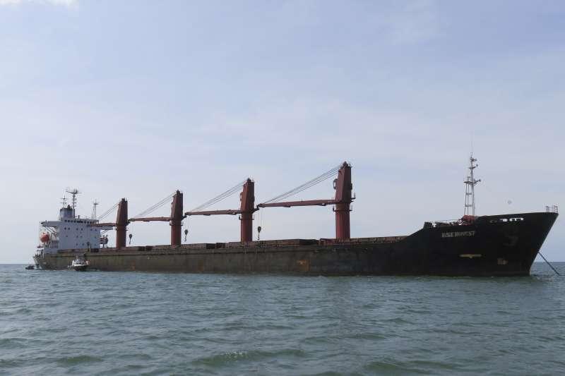 2019年5月9日,美國司法部宣布扣押一艘違反聯合國經貿制裁禁令的北韓貨輪(AP)