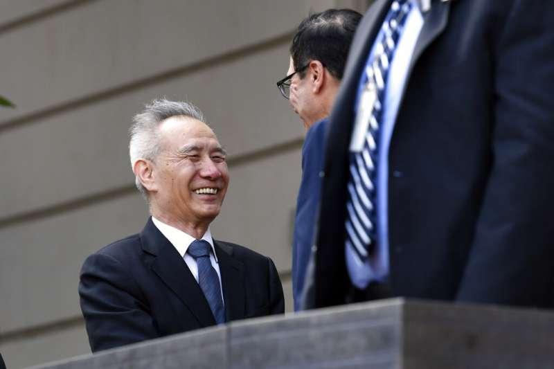 中美貿易磋商的中方貿易代表劉鶴。(美聯社)