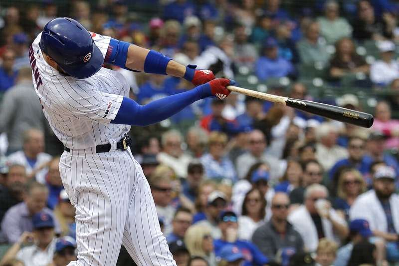 小熊球星布萊恩對於戰斧球棒的評價非常高。(美聯社)