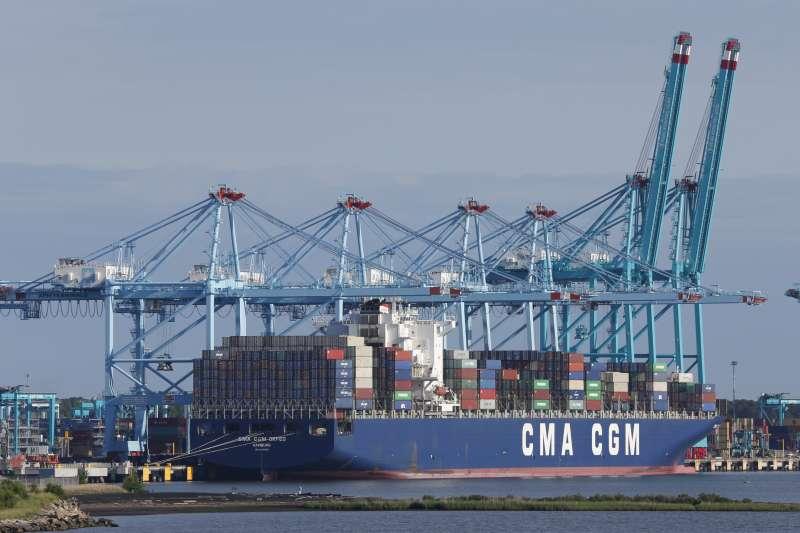 2019年中美貿易戰,美國總統川普對中國輸美商品祭出高額關稅(AP)