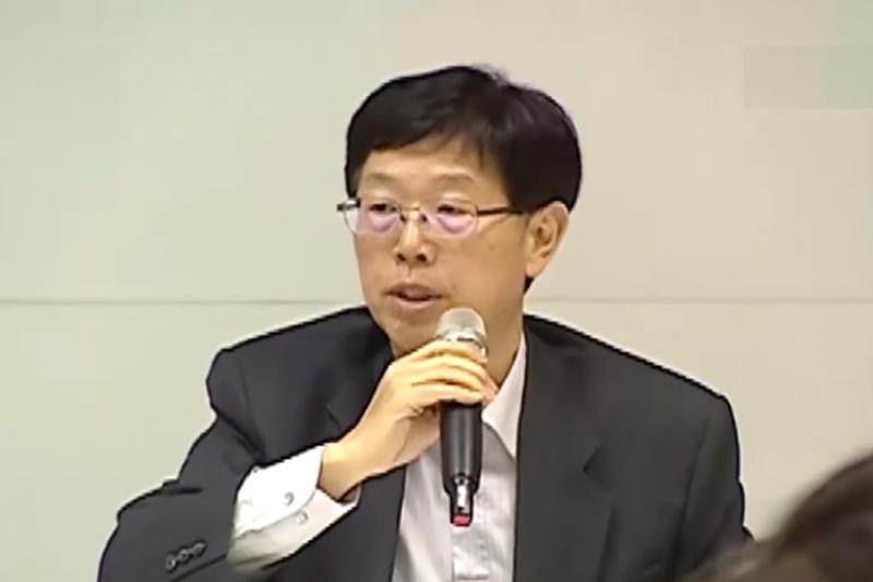 鴻海S次集團總經理劉揚偉(截自Youtube)