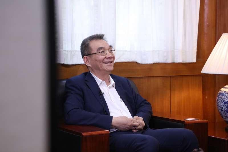 林毅夫日前在博鰲見面會表示,大陸新冠肺炎疫情防控措施得當,大陸出口多,對台灣的經濟復甦亦互利雙贏的。(資料照,新新聞攝)