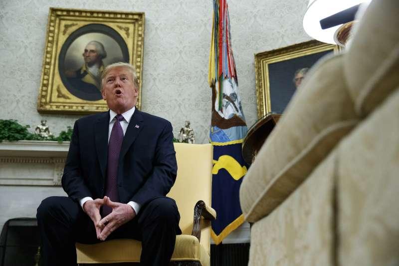 中美貿易戰:美國總統川普稱,6月底的G20峰會舉行川習會(AP)