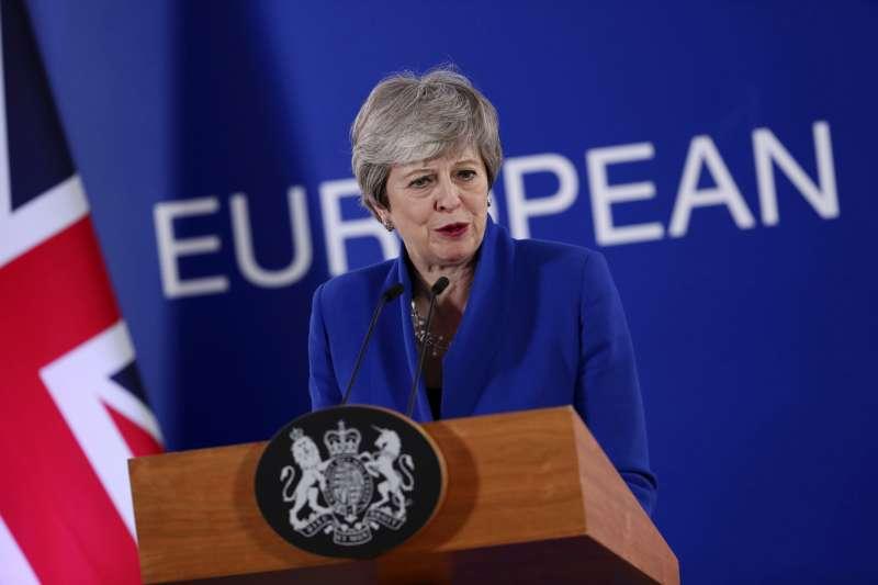 英國首相梅伊的脫歐協議將第四度送交國會表決。(美聯社)