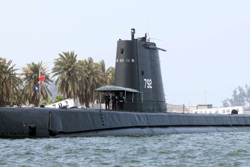 20190515-海軍現役4艘潛艦中的兩艘茄比級「海獅、海豹」,若算上在美服役時間,整體已超過70年,由於太過老舊,現僅能擔負訓練用途。(蘇仲泓攝)