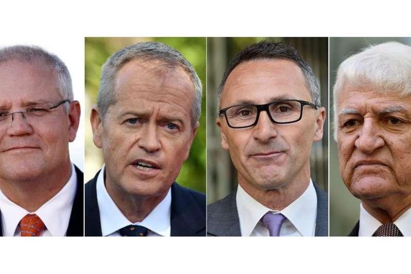 2019年澳洲大選候選人。(BBC中文網)