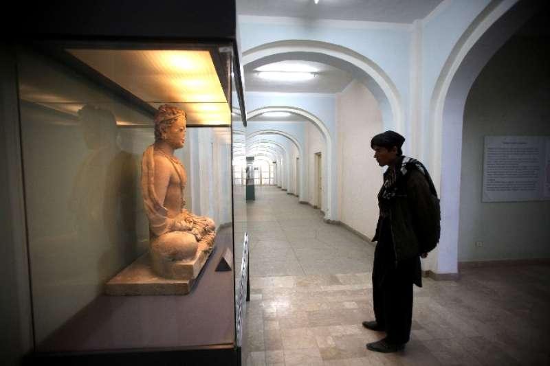阿富汗國家博物館。(新華社)