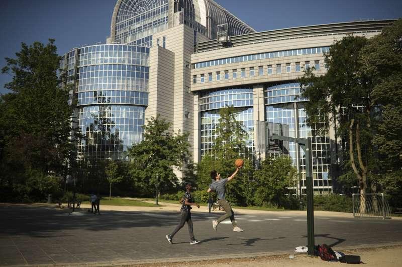 位於比利時布魯塞爾的歐洲議會。(美聯社)