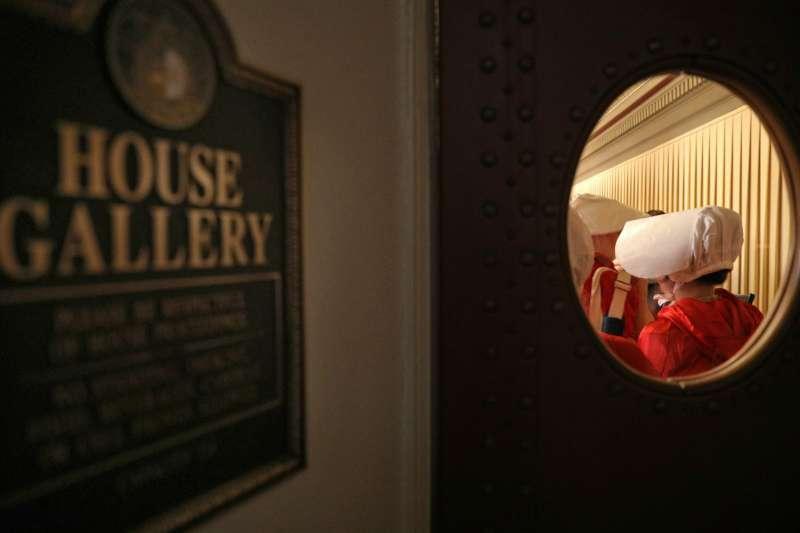 美國密蘇里州眾議院17日通過一項嚴苛的墮胎禁令(美聯社)