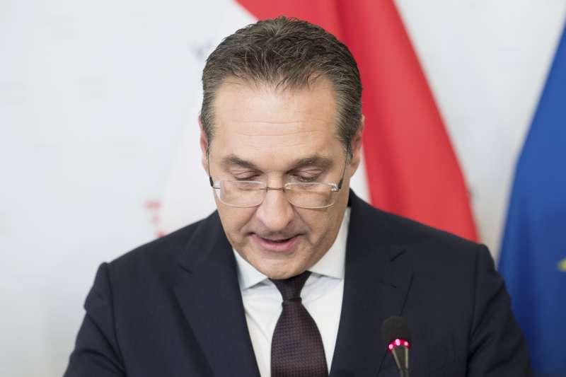 奧地利副總理斯、自由黨主席施特拉赫(Heinz-Christian Strache)(AP)