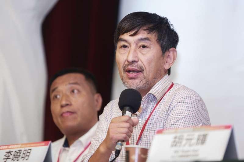 20190518-前六四戒嚴部隊軍官李曉明18日出席六四事件30週年研討會。(簡必丞攝)