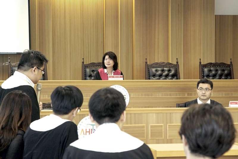 20190519-模擬亞洲人權法院是第一個亞洲人權法院,第一次準備庭選定我國羈押最久的死刑犯邱和順案審理。(模擬亞洲人權法院提供)