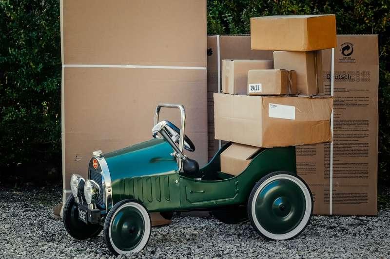 20190519 upload-紙箱 箱子 包裹 快遞 打包 物流 貨物 倉儲。示意圖。(取自siala@pixabay/CC0)