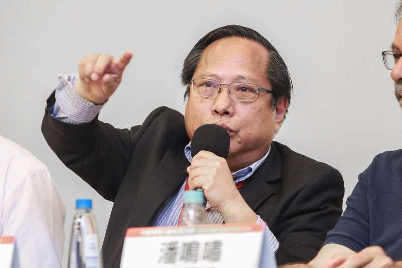 20190519-香港支聯會主席何俊仁19日出席六四30週年研討會。(簡必丞攝)