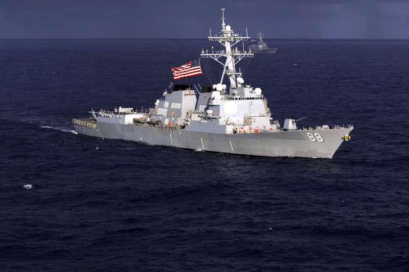 美國海軍阿利伯克級驅逐艦「普雷貝爾號」(USS Preble、DDG-88)。(美國海軍官網)