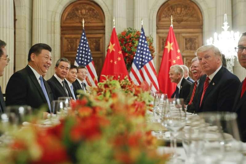 中美貿易戰,川習會,川普、習近平。(美聯社)