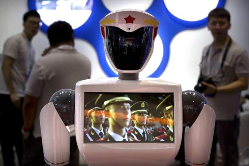 中美貿易戰、中國製造2025、機器人、知識產權。(美聯社)