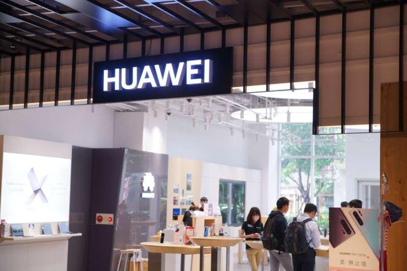20190521-華為HUAWEI三創體驗店。(盧逸峰攝)