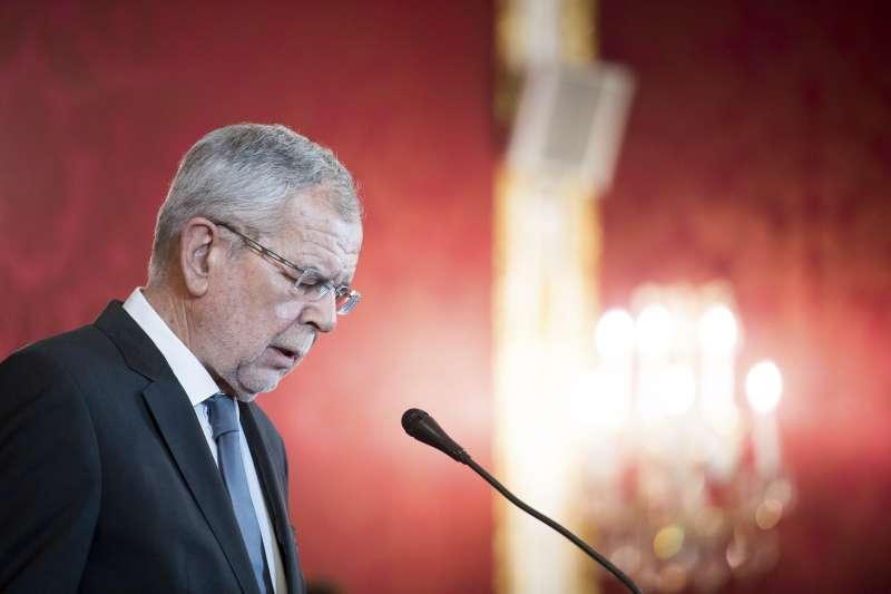 奧地利總統范德貝倫(Alexander Van der Bellen)。 (AP)