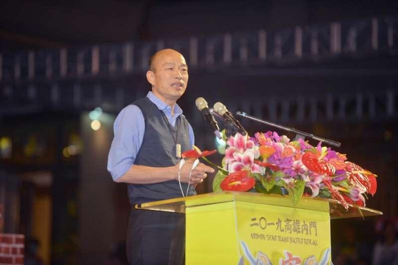 高雄市長韓國瑜透露,已有高雄市長補選人選,只是現在不能講。(資料照,翻攝自高雄市長韓國瑜臉書)