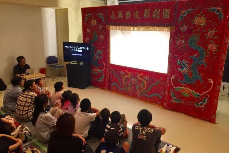 2017年永興樂皮影劇團於日本飯田國際偶戲節演出/皮影戲館提供.jpg