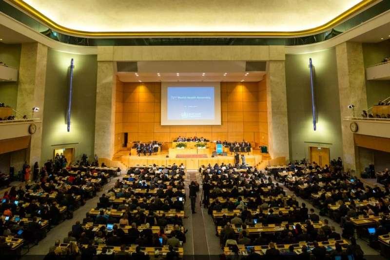 第72屆世界衛生大會(WHA)各國發言22日結束,共有8理念相近國家及15友邦為台發聲,總計17友邦之中除教廷是觀察員外,只有尼加拉瓜尚未發言挺台。(取自United Nations (UN)@twitter)