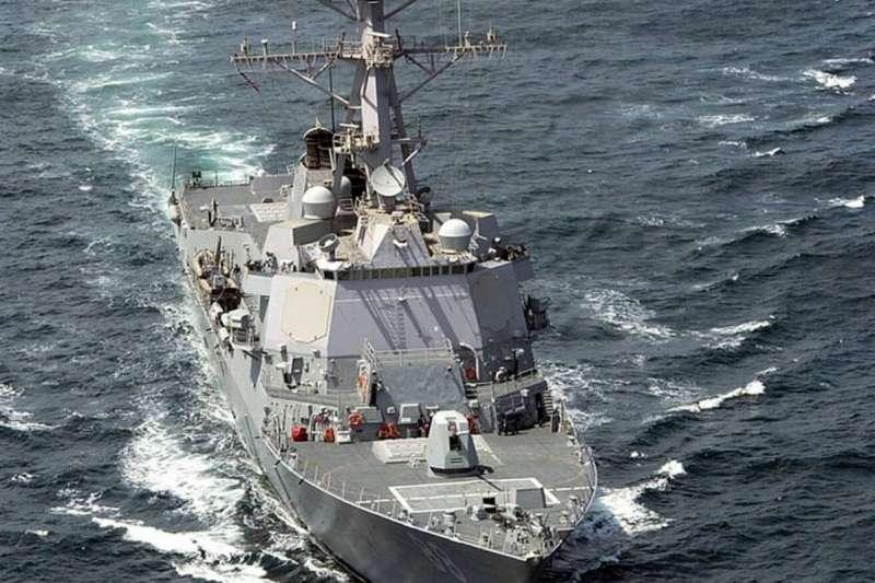 美軍驅逐艦普瑞布爾號(Preble)。(維基百科/公用領域)