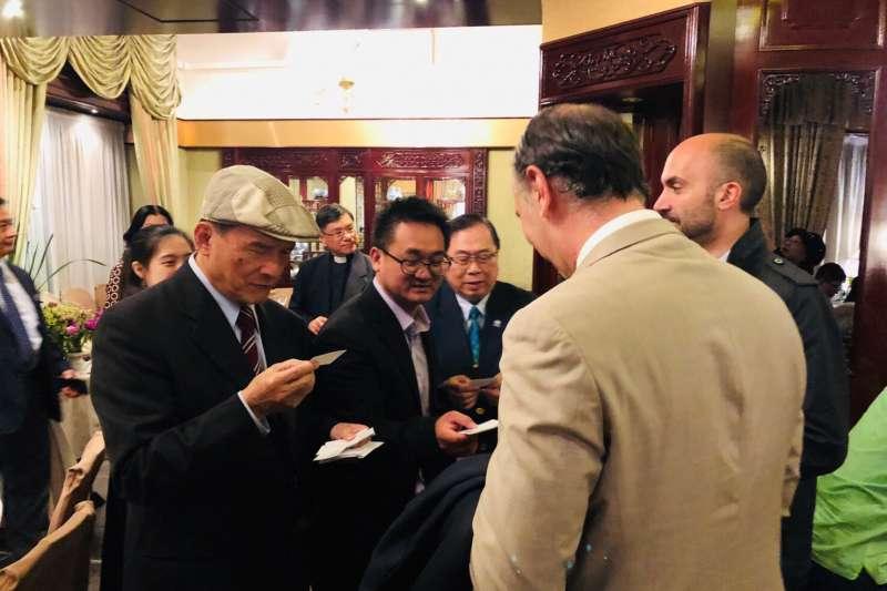 WHO宣達團拜訪義大利國會,期盼義大利未來更支持台灣加入WHO。