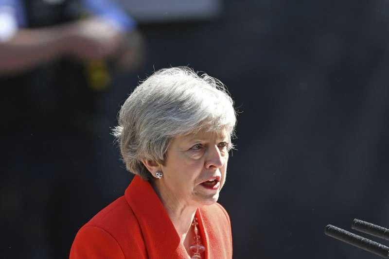2019年5月24日,英國首相梅伊(Theresa May)宣布將於6月7日辭職(AP)