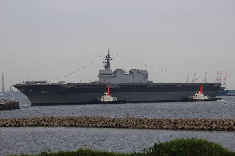 加賀號護衛艦(Yamada Taro@Wikipedia  / CC BY-SA 4.0)